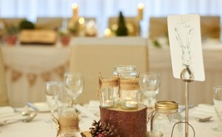 Wellington Suite - Rustic Table Set Up